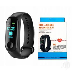 M3 Smart Fitness Tracker With Heart Rate Monitor   Smart Watches & Trackers for sale in Lagos State, Ikeja