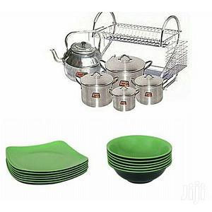 Cooking Pots,Kettle, Plates Rack, Unbreakable Plates Bowls | Kitchen & Dining for sale in Lagos State, Lagos Island (Eko)
