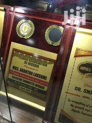 Award Plaque   Arts & Crafts for sale in Lagos State, Epe