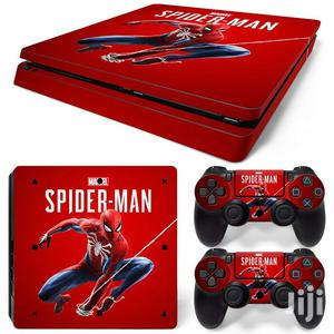 Spider Man Ps4 Slim Skin | Accessories & Supplies for Electronics for sale in Lagos State, Ifako-Ijaiye
