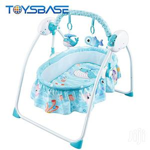 Baby Remote Control Electric Rocking Cribs Swing | Children's Gear & Safety for sale in Lagos State, Lagos Island (Eko)