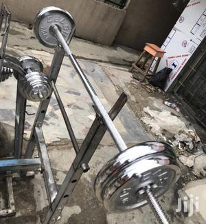 50kg Barbell   Sports Equipment for sale in Lagos State, Ikeja