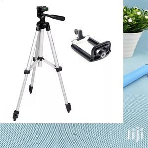 Video Camera Camcorder Tripod With Phone Holder | Accessories & Supplies for Electronics for sale in Lagos State, Surulere