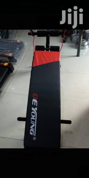 Brand New Tummy Trimmer Portable Sit Up Bench With Aerobic | Sports Equipment for sale in Lagos State, Surulere