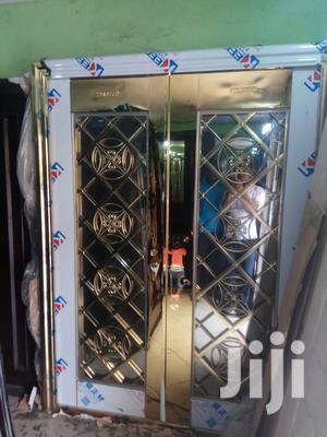 Glass Gold Door. | Doors for sale in Lagos State, Orile