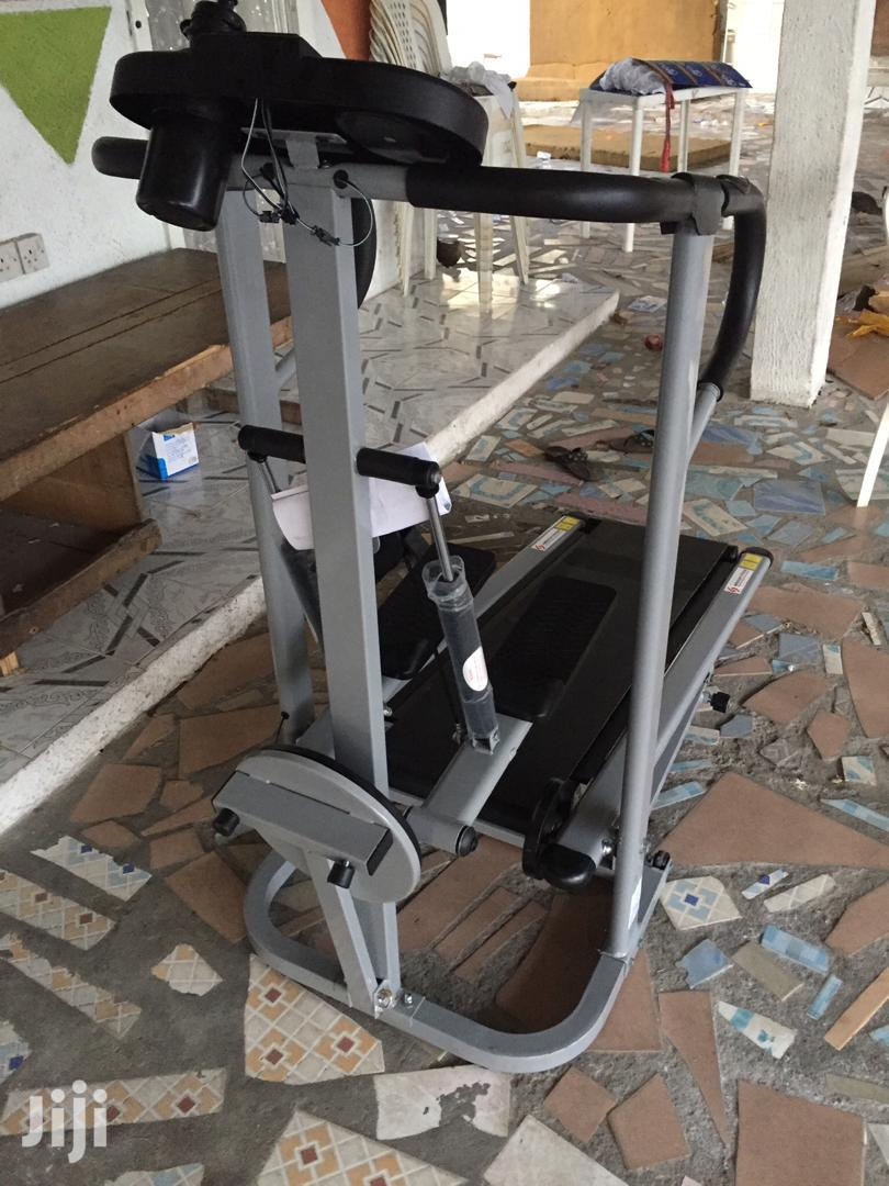 New Manual Treadmill With Stepper and Twister