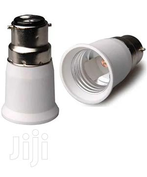 B22 Male Pin To E27 Female Srew Bulb Lamp Socket Converter Adapter   Electrical Equipment for sale in Lagos State, Surulere
