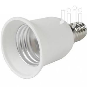 E14 Male Screw To E27 Female Srew Bulb Lamp Socket Converter Adapter   Electrical Equipment for sale in Lagos State, Surulere