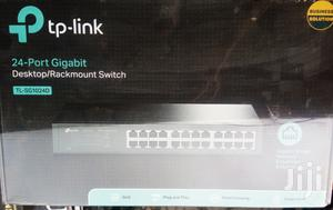TP-LINK 24 Port Gigabit Ethernet Desktop Rackmount Switch   Networking Products for sale in Lagos State, Ikeja