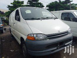 Toyota Hiace 2003 White Container Body | Buses & Microbuses for sale in Apapa, Lagos State, Nigeria