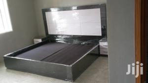 Padding Bed Frame,,6*6 With 2 Bed Side | Furniture for sale in Lagos State, Ipaja