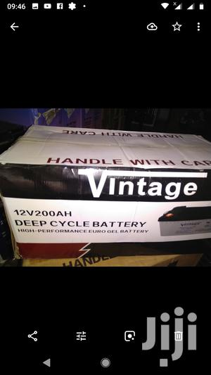 Vintage 12v/200ah Deep Cycle Battery   Solar Energy for sale in Lagos State, Ojo