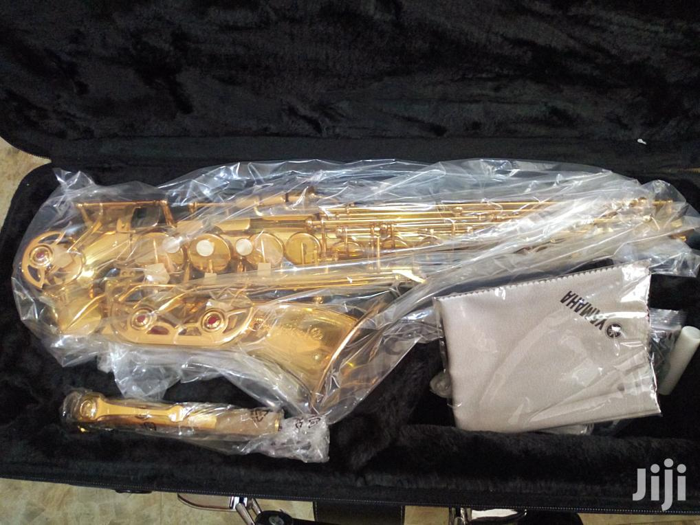 Original Yamaha Alto Saxophone Gold Yas 62   Musical Instruments & Gear for sale in Ojo, Lagos State, Nigeria