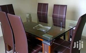 Quality By 6 Glass Dinning Table | Furniture for sale in Lagos State, Lekki