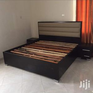 Bed Padding Leather,,,,6*6 With 2 Bedside | Furniture for sale in Lagos State, Lekki