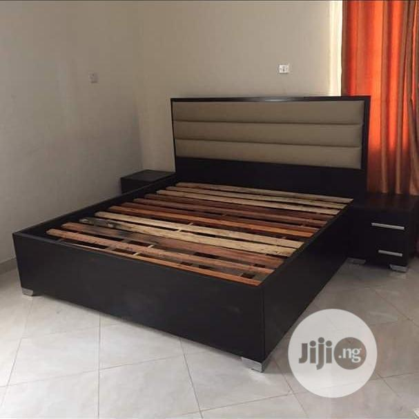 Bed Padding Leather,,,,6*6 With 2 Bedside