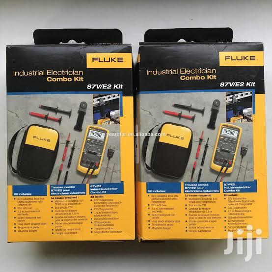 Fluke 87V True RMS Digital Mulitmeter | Measuring & Layout Tools for sale in Alimosho, Lagos State, Nigeria