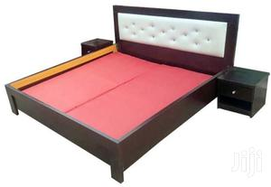 Bed Frame 6x6 With 2 Bedside Available To Sell   Furniture for sale in Lagos State, Orile