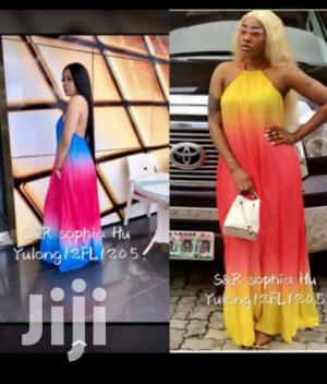 New Rainbow Showback Maxi Gown   Clothing for sale in Lagos State, Ikeja
