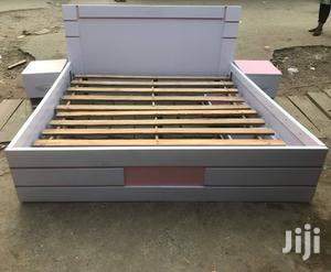Bed Frame 6x6 With 2 Bed Side Drawer   Furniture for sale in Lagos State, Shomolu