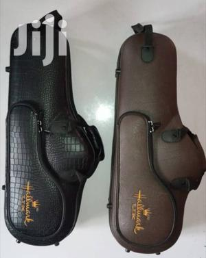 Hallmark-uk High Quality Alto Saxophone Leather Case | Musical Instruments & Gear for sale in Lagos State