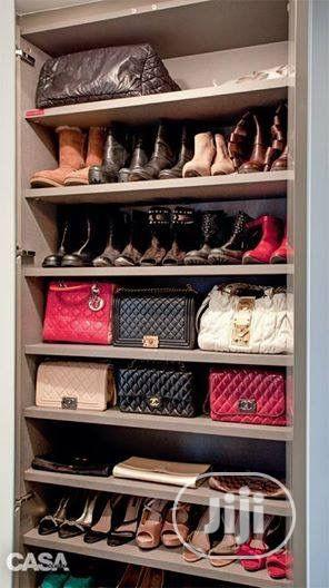 Shoe Rack And Space For Bag | Furniture for sale in Lagos State, Victoria Island