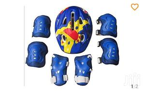 Skating Guard And Helmet For Kids | Sports Equipment for sale in Lagos State, Victoria Island