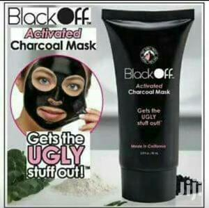 Black Off Activated Charcoal Mask | Skin Care for sale in Lagos State, Mushin