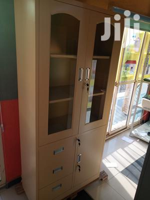 Imported High Quality Half Glass Metal Partition Shelves | Furniture for sale in Lagos State, Apapa