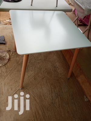 Imported Full Square Whitening Wooden Leg Table | Furniture for sale in Lagos State, Lagos Island (Eko)