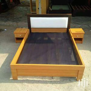 Available Bed Frame 6x6 With 2 Bedside Drawer   Furniture for sale in Lagos State, Maryland