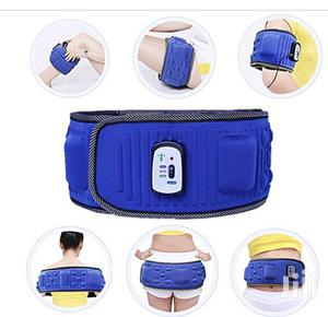 Vibration Fitness Belt Slimming Massager Fat Burning Waist Band X5   Sports Equipment for sale in Lagos State, Mushin