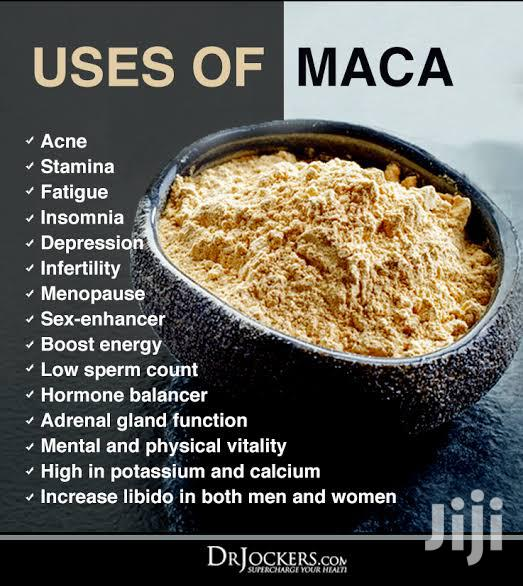 Organic Maca Root Powder   Sexual Wellness for sale in Amuwo-Odofin, Lagos State, Nigeria