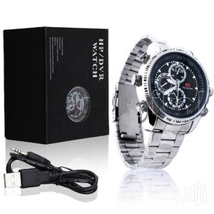 8GB HD Pinhole Camera Wrist Watch - Silver   Security & Surveillance for sale in Lagos State, Ikeja