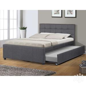 Upholstery Sofas,2in1 Double, Bedframe 6x6 It Have Bedside | Furniture for sale in Lagos State, Lekki