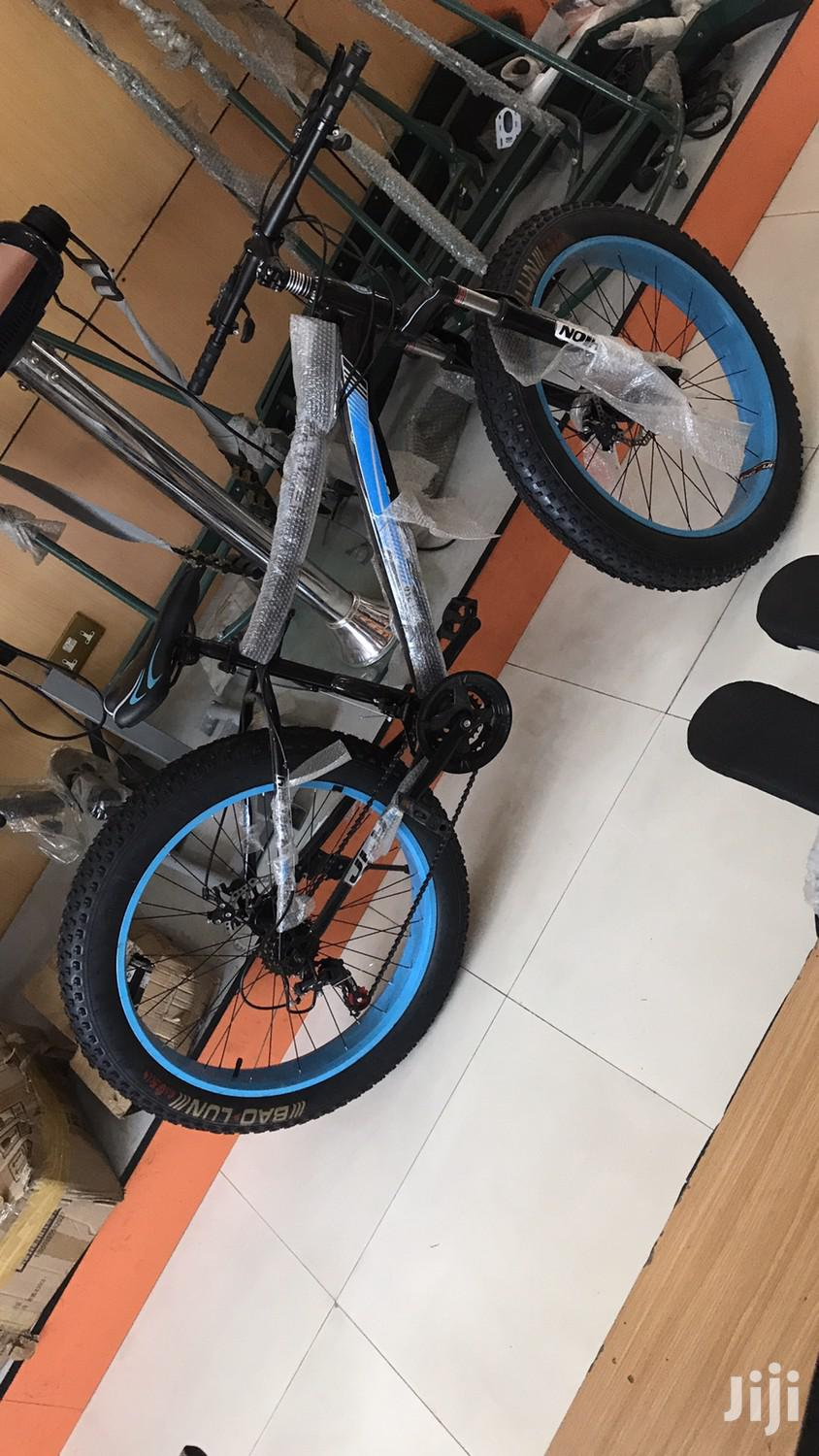 New Fat Tyre Bicycle