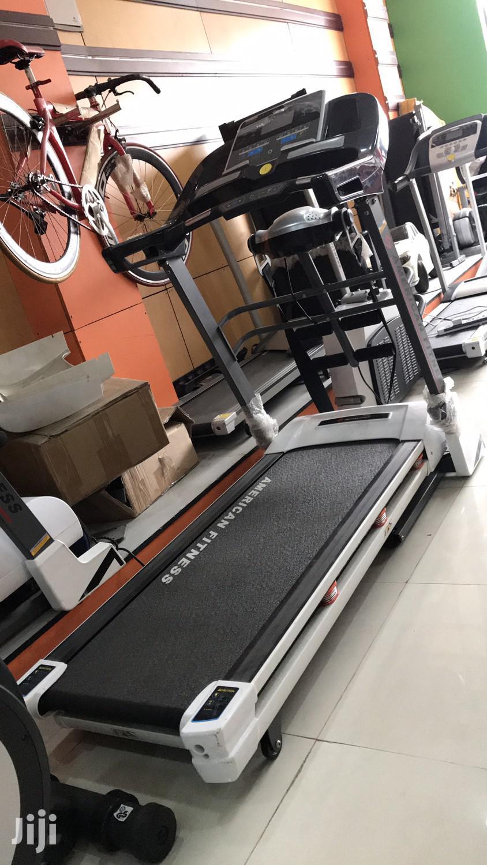 2.5hp Treadmill American Fitness