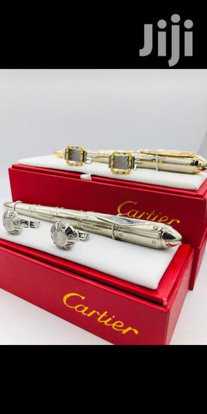 Cartier Cufflinks And Pen | Stationery for sale in Lagos State, Lagos Island (Eko)