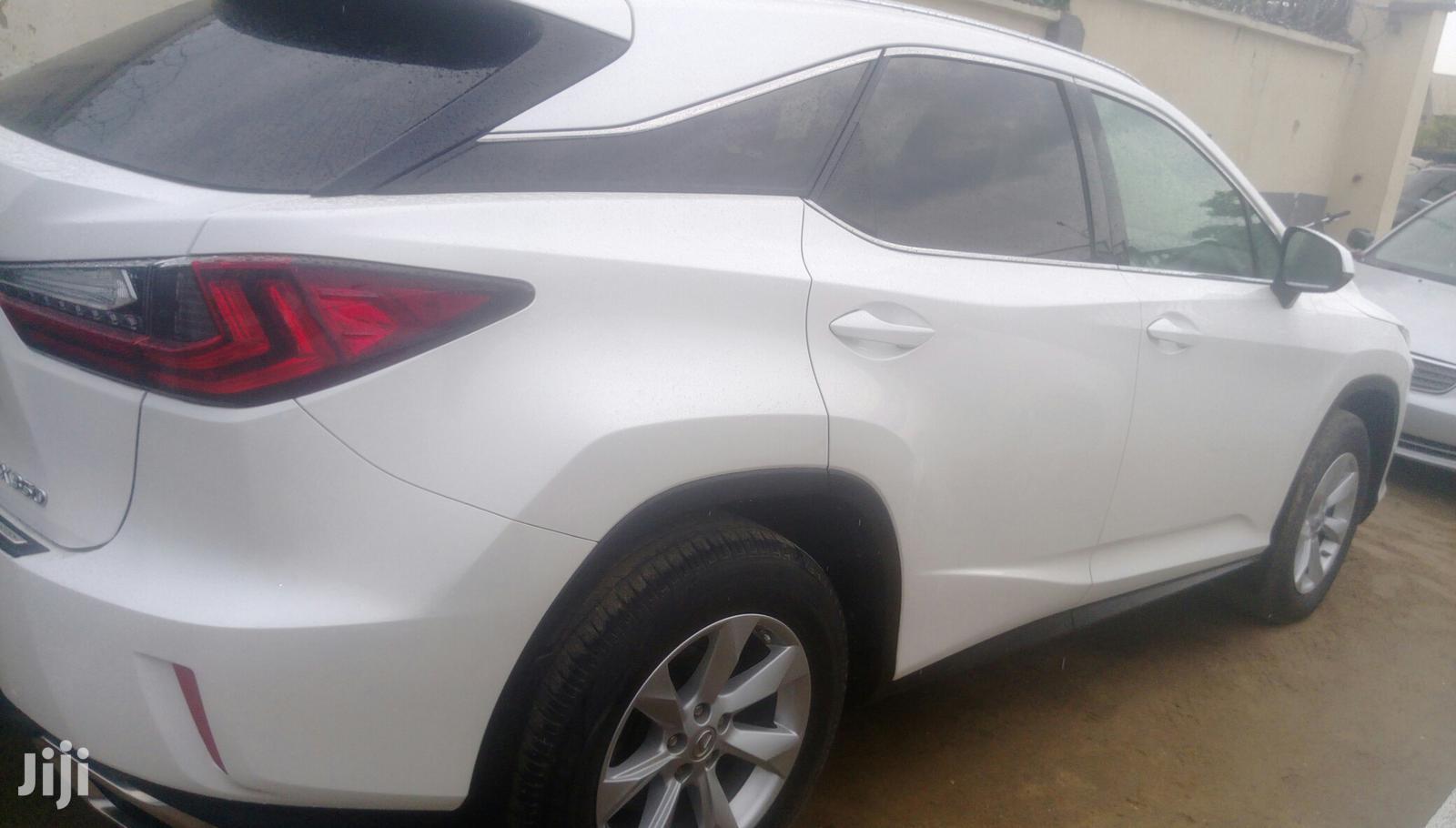 Lexus RX 2017 350 AWD White   Cars for sale in Amuwo-Odofin, Lagos State, Nigeria