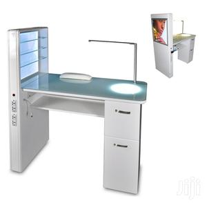 Manicure Station With Picture And Light | Salon Equipment for sale in Lagos State, Surulere