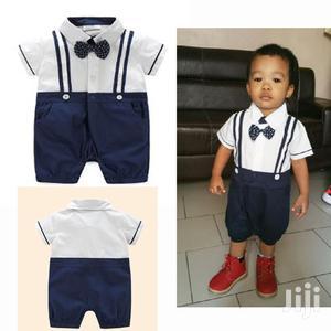 High Quality Boys 1 Year Birthday Gentlemen Romper   Children's Clothing for sale in Lagos State, Amuwo-Odofin