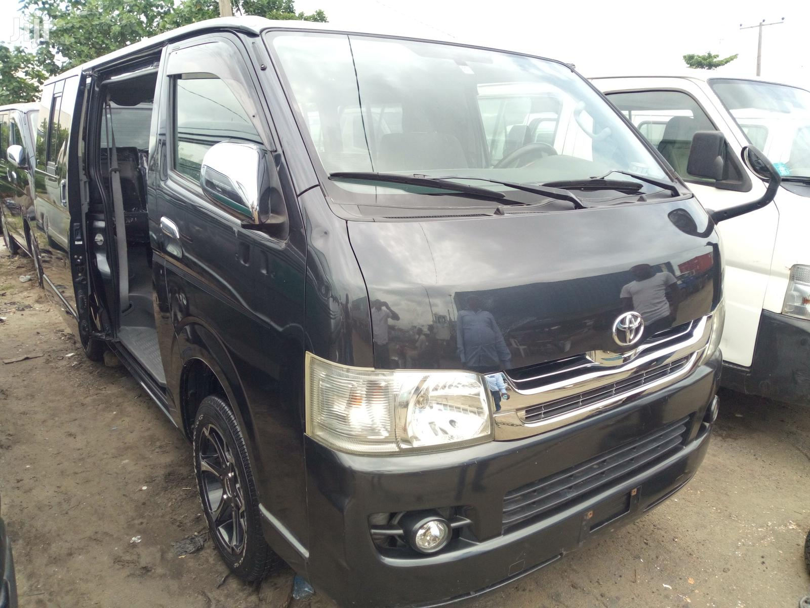 Toyota HiAce 2010 Black   Buses & Microbuses for sale in Apapa, Lagos State, Nigeria