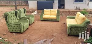 New Made Sofa Green | Furniture for sale in Edo State, Benin City