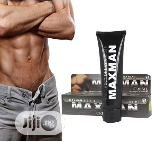 Maxman Delay And Penis Enlargement Cream For Men