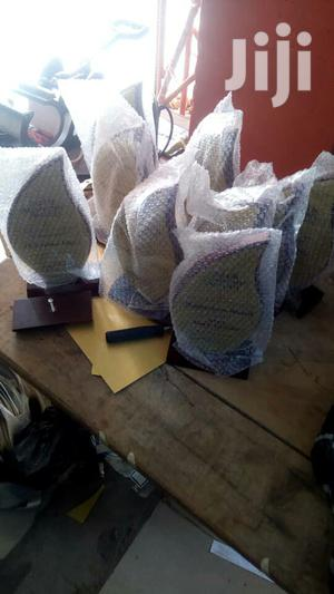 Wooden Award Plaque With Printing | Arts & Crafts for sale in Lagos State, Yaba