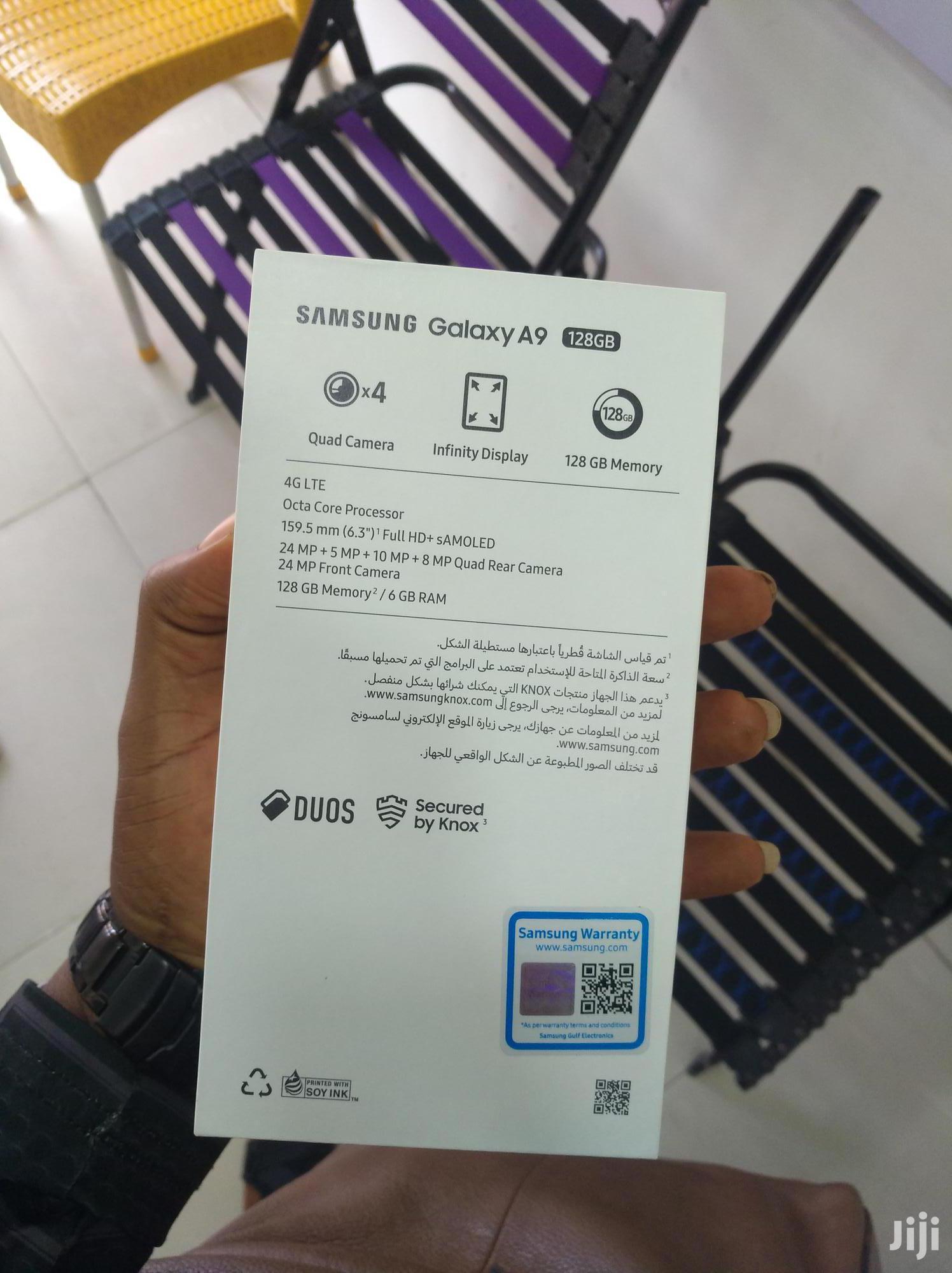 New Samsung Galaxy A9 32 GB Black
