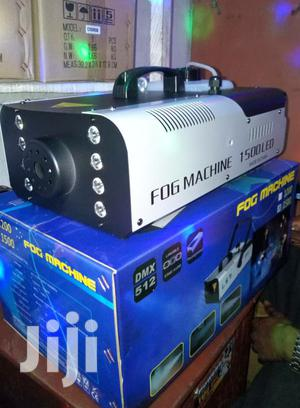 Complete 920W Smoke Fog Machine P LED Light Party Club Disco DJ Effect | Stage Lighting & Effects for sale in Lagos State, Ojo