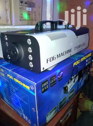 1500w Smoke Fog Machine LED Light Party Club Disco DJ Effect Stage | Stage Lighting & Effects for sale in Lagos State, Ojo