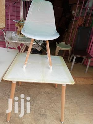 Best Quality Executive London Style Wooden Leg Table With Chair | Furniture for sale in Lagos State, Ikoyi