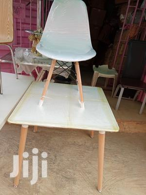Imported Best Quality London Style Wooden Leg Table With Chair | Furniture for sale in Lagos State, Lekki